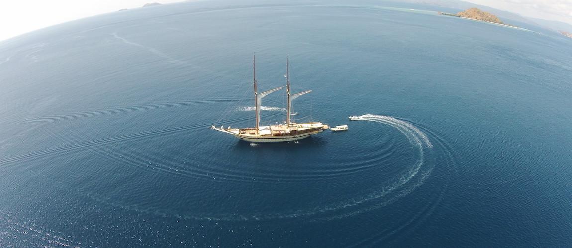 Komodo sailing yacht