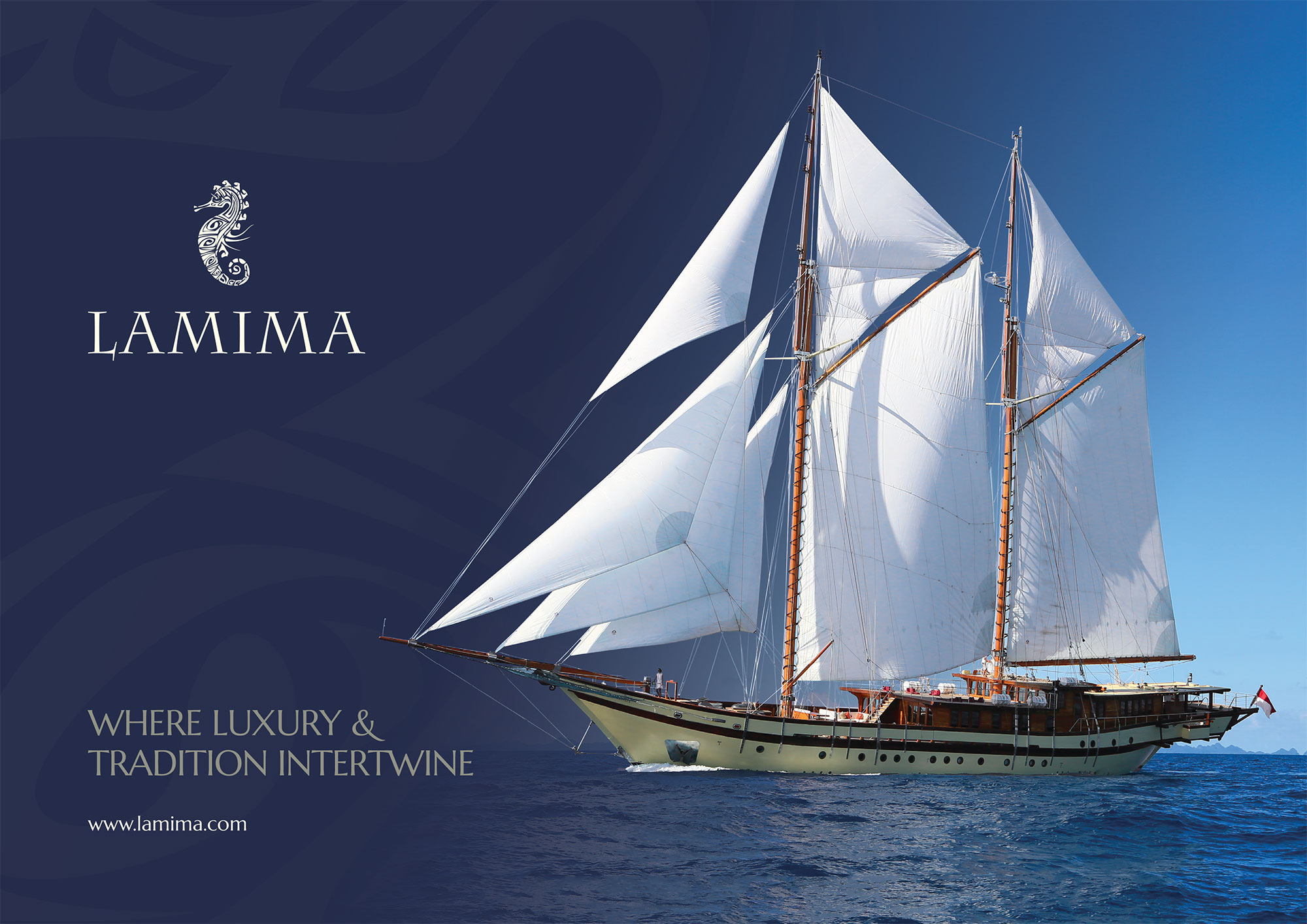 Lamima-Brochure-Cover luxury charter yacht