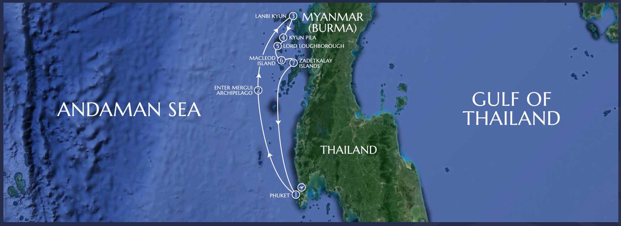 Lamima Mergui Archipelago - 7 Nights